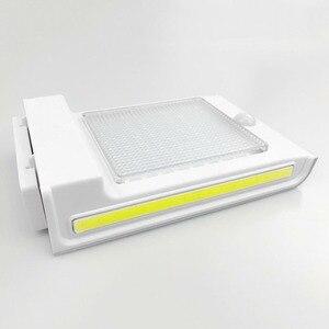 Image 3 - 72LED 34COB Waterproof 500Lm Solar Motion Sensor Lamp Garden Security Light