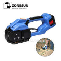 ZONESUN strapping machine ORT-200 Battery Powered electric pet strap packing Tool Electric Plastic Strapping Tool