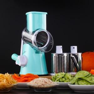 Image 5 - Vegetable Cutter Round Slicer Graters Potato Carrot Cheese Shredder Food Processor Vegetable Chopper kitchen Roller Gadgets Tool
