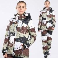 Winter ski jacket ski suits for women snowboard pants snowboarding suits female snow trousers for skis de femme esqui
