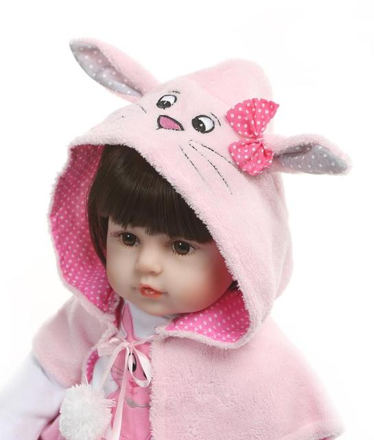 Hot Sale Soft Silicone Reborn Baby Doll Toy Like Real Vinyl Princess Toddler Babies Child Birthday