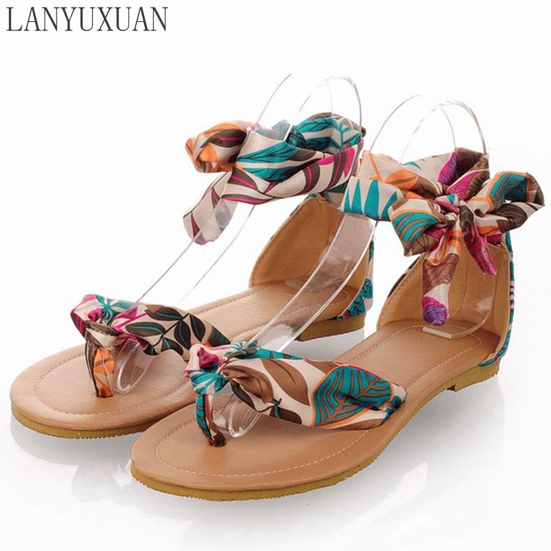 2017 Sandalias Mujer Ladies Shoes fashion Tenis Feminino Plus Size Women Sandals Sapato Summer Style Chaussure Femme Bl-326-4 size 4 11 big size sandals women shoes black beading 2016 summer women flats shoes sandalias mujer check foot length