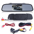 "4.3"" Full HD 1080P Car DVR Camera Mirror TFT Screen Video Recorder Dash Cam Night Vision Rear View Camera high quality"