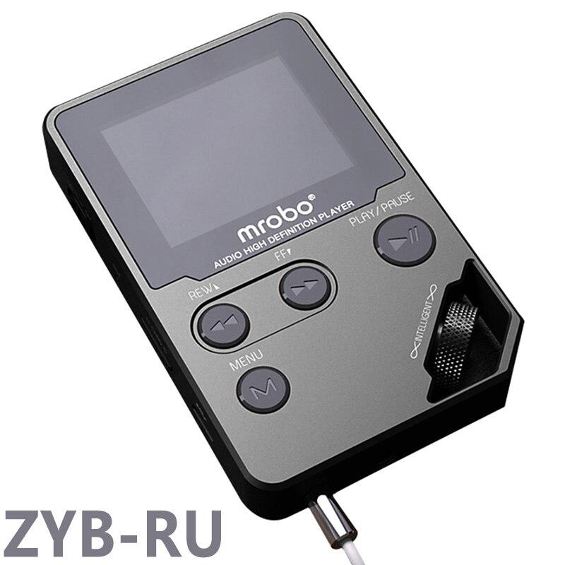 Lecteur MP3 HIFI Original 8 GB métal haute qualité sonore lecteur de musique d'entrée de gamme sans perte Support TF carte FM E-book