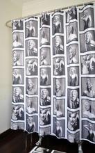 180×180 cm Impresión 3D marilyn monroe Patrón de Baño Cortina de Ducha Cortinas de Baño de Alta Calidad de Baño Pura para el Hogar decoraciones
