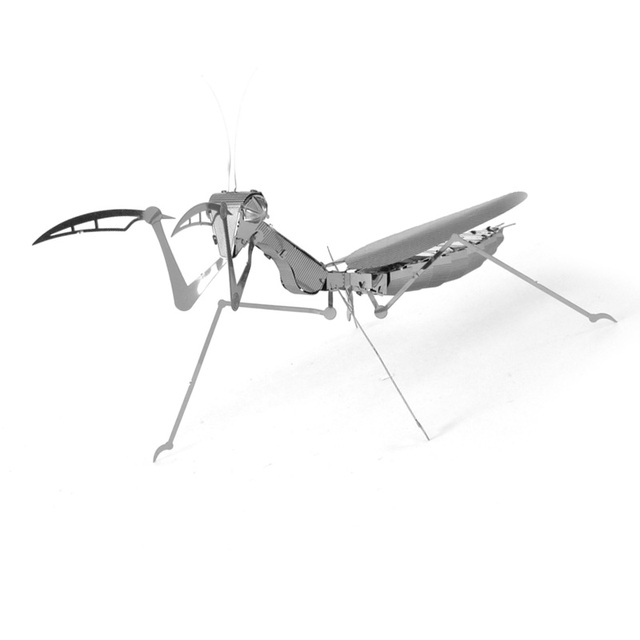 3D Classical DIY Metallic Insects Model Building Kits