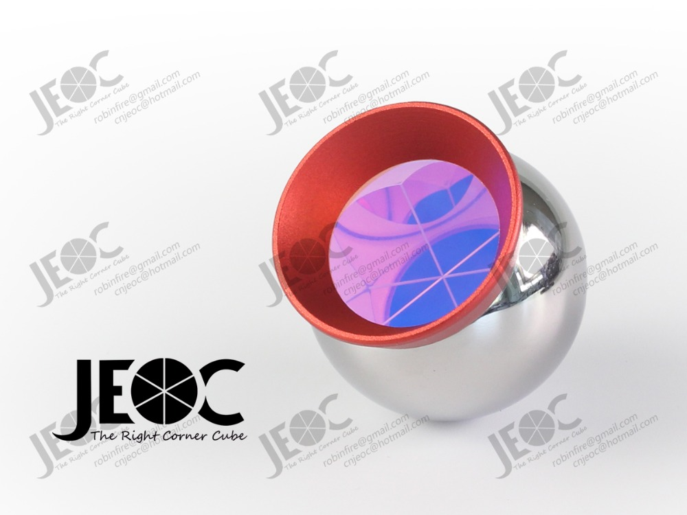 Reflective Ball with steel surface magnetic 1 5inch sphere Replacement of Leica Red Ring Reflector RRR