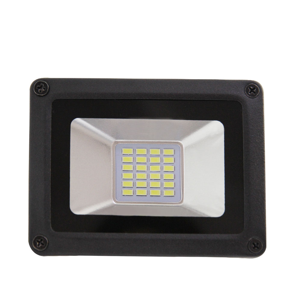 2017 new mini led light flood white cold white hot 10 w ip65 projector outside ultra thin led garden outside light bulb ac176v
