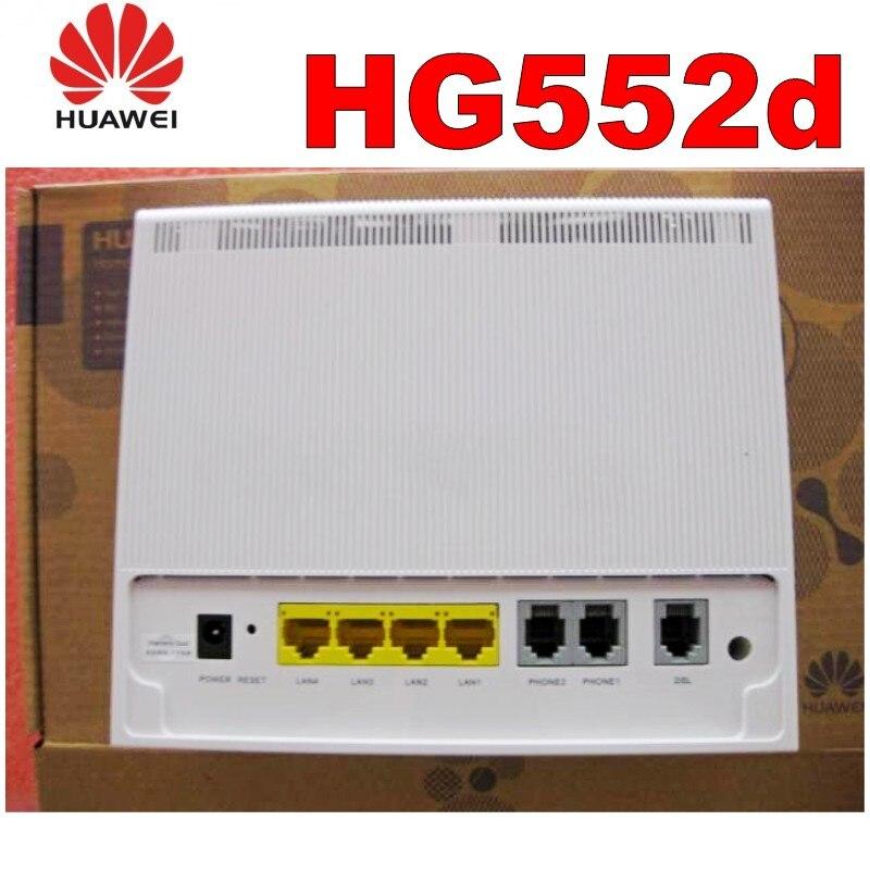 Nouveau dans la boîte débloqué Huawei HG552d ADSL2 + modèle/routeur