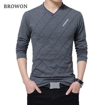 Men's Slim Fit Crease Design T-Shirt