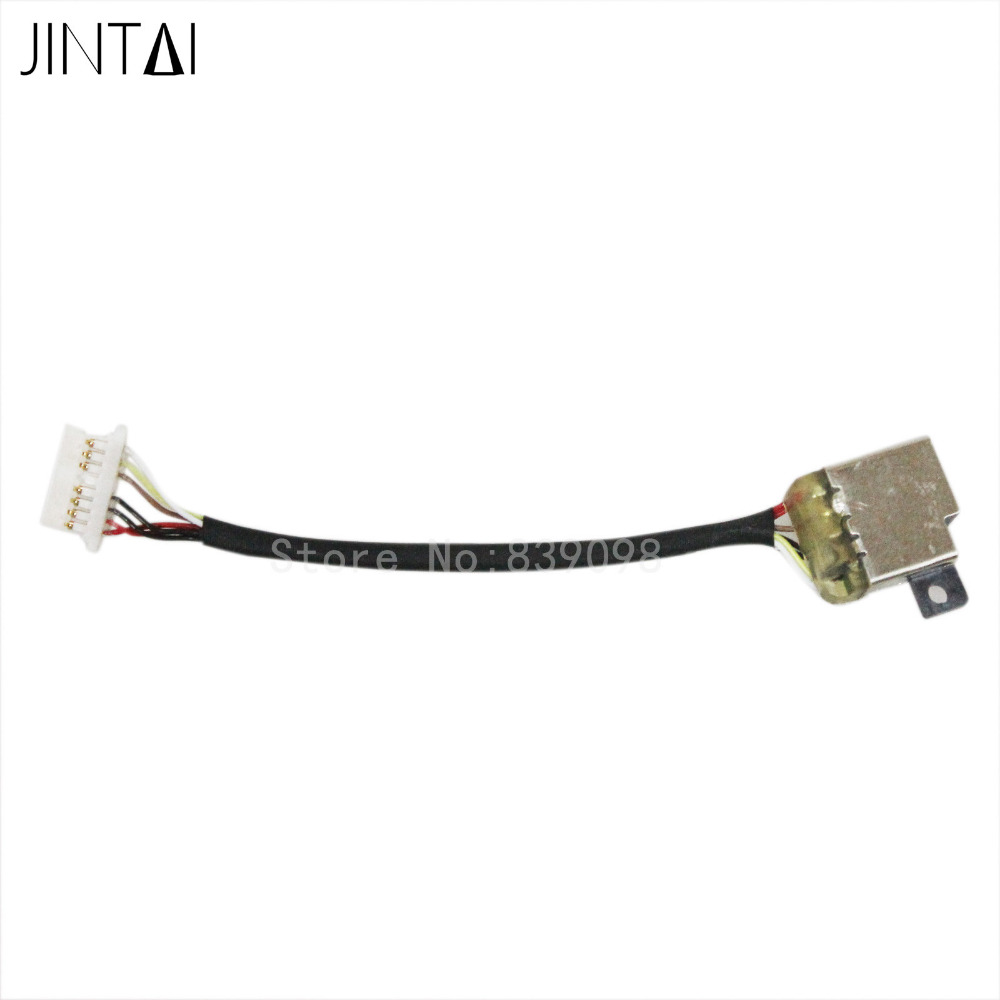 Jintai DC POWER JACK CABLE FOR HP Spectre X360 13-4110dx 13-4116dx 13-4118nr 13-4010nv 13-4013dx 13-4013nb 13-4196ms 13-4197dx
