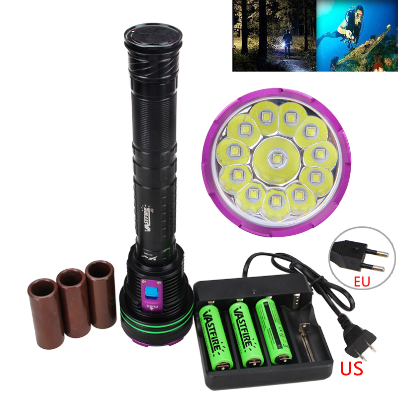 Super Bright 15000LM 12x XM-L2 LED Tactical Flashlight Torch Light Lamp 18650 Battery Charger led tactical flashlight 501b cree xm l2 t6 torch hunting rifle light led night light lighting 18650 battery charger box