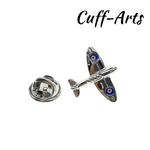 Запонки Spitfire Aeroplane, нагрудный знак, 2018, новые модные украшения, подходящие под запонки, нагрудный штырь, бесплатная доставка P10049