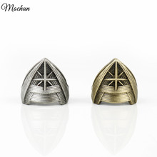 MQCHUN 2017 DC Comics Wonder Woman Diana Prince Crown Rings Fashion Women Men Punk Style Ring Cosplay Hot Movie Jewelry