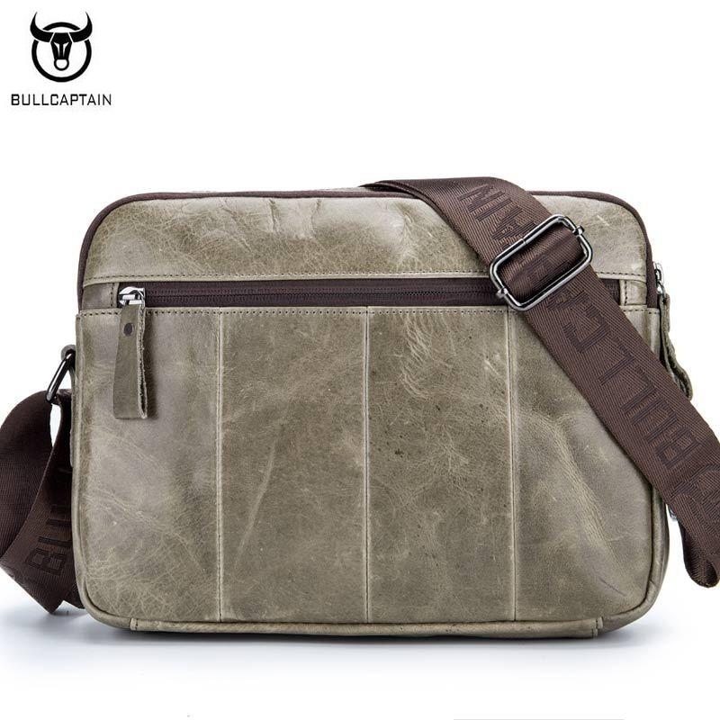 bolsa de homem de negócios Color : Brown Deep Green Meters Gray