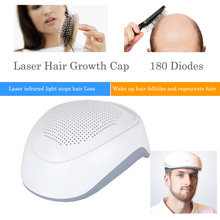 New Laser Therapy Hair Growth Helmet Anti Hair Loss Device Treatment Anti Hair Loss Promote Hair Regrowth Cap Massage Equipment цена 2017