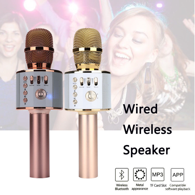 T-Gtexnik Q37 Portable Microphone Speaker Wireless Bluetooth PK Q7 Q9 Professional Microphone Speaker Usb For Karaoke Ktv Phone gps модуль для iroad v9 a9 t10 q7 q9