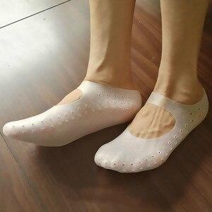 1 Pair Gel Sock Silicone Foot