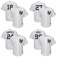 MLB Men S New York Yankees Aaron Judge Giancarlo Stanton Gary Sanchez Didi Gregorius Baseball Jersey