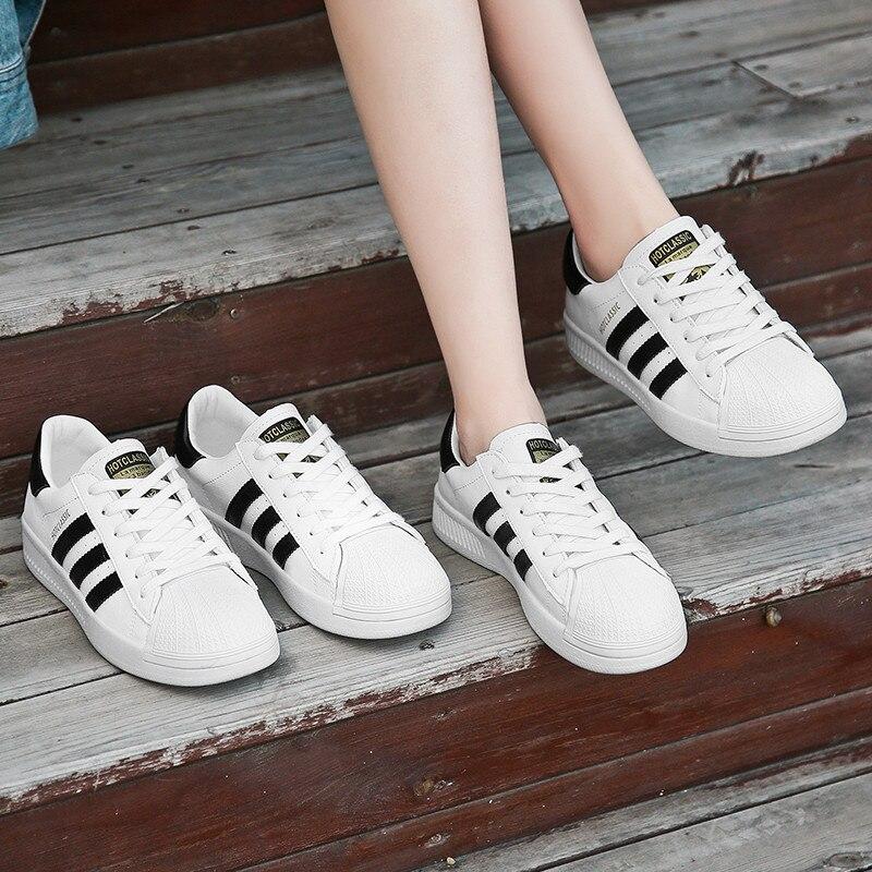 Frauen Beige Casual weiß Trends Frau Mode Wohnungen Frühling Schuhe 2019 35 Plattform Turnschuhe 5j7501 Weibliche 39 Ins Lace Up Herbst rfwqrA4nU