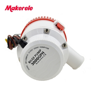 MKBP-G3000-12/24 3000GPH water pump battery powered bilge pump 12/24v from china factory with marine,motor homes