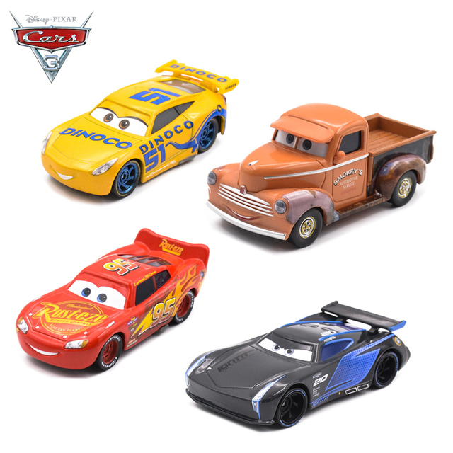 1 55 Disney Pixar Cars 3 Diecast Metal Car Toys Jackson Storm