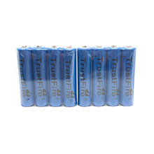 20pcs/lot TrustFire 3.7V TR10440 600mAh 10440 Rechargeable Lithium Battery with 1000 Cycle for LED Flashlight Headlamp trustfire tr10440 10440 aaa 3 7v 600mah lithium battery rechargeable batteries for led flashlight torch remote control toys