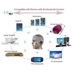 Image 5 - Cuffie Bluetooth Aimitek cuffie sportive senza fili cuffie sportive Yoga cuffie vivavoce cappello caldo morbido cappellino intelligente con microfono