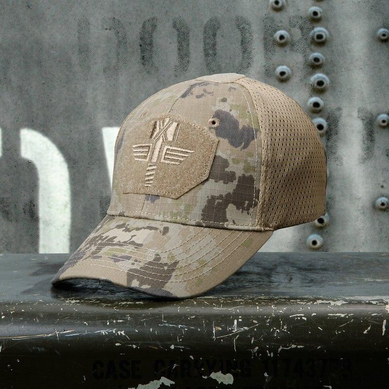 Multicam suhi taktički baseball MCA 100% mreža 65/35 Ripstop Materijal za bejzbol šešir na otvorenom Camo Sport Cap MCBK MTP lovačka kapa