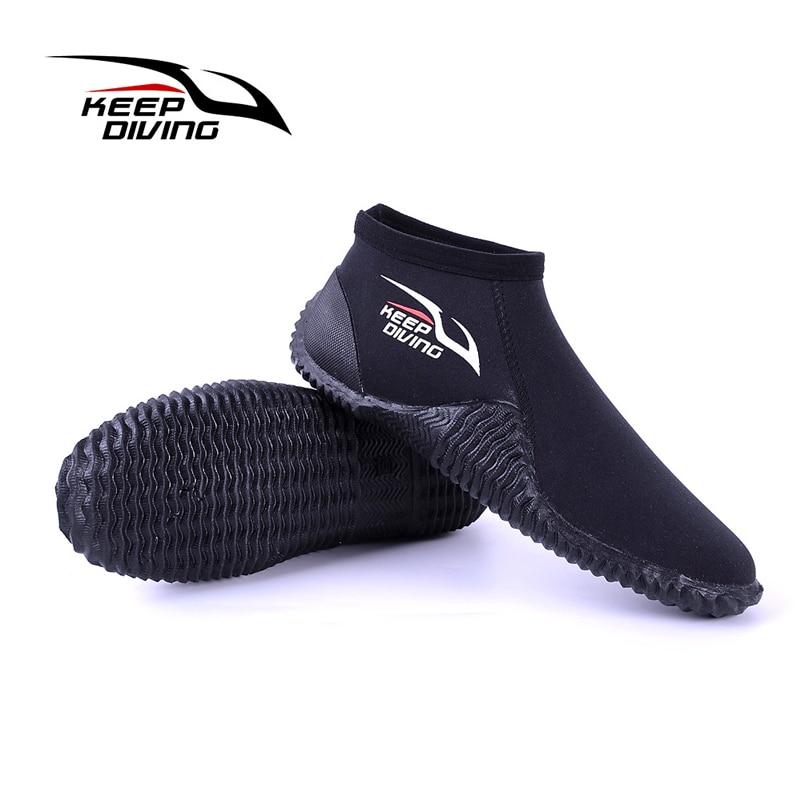 Hiver Froid Preuve 4mm Néoprène Plongée sous-marine Bottes Eau Chaussures Vulcanisation Équipements de Plongée S-XXXL