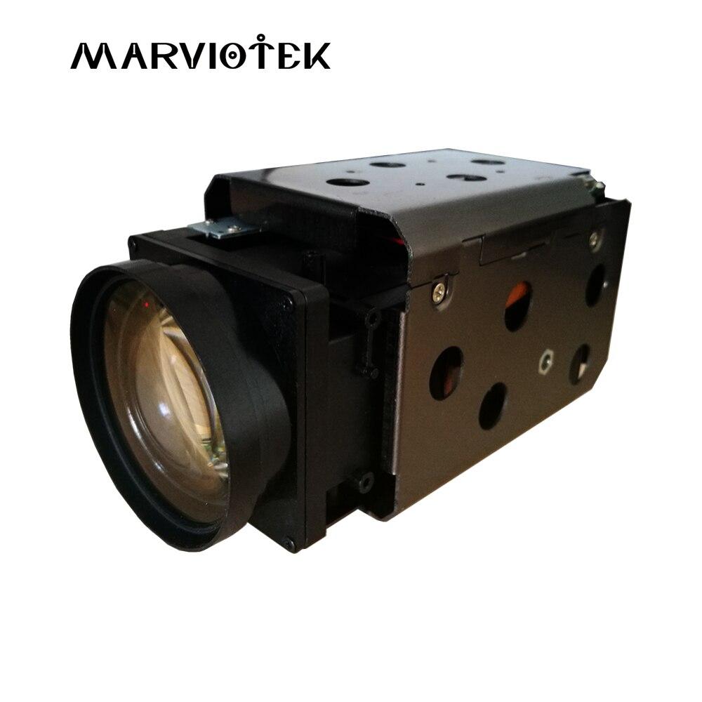 2MP macchina fotografica del ip ptz 38X Zoom cctv telecamere ip modulo Onvif H.265 video surveillance network block modulo telecamera SONY IMX385 sensore