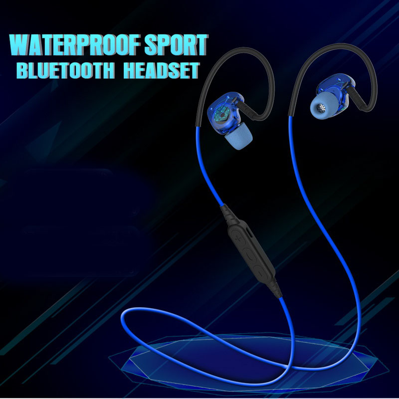 YMDX PLEXTONE BX240 Wireless Bluetooth Earphone Sweatproof Sport Headset Stereo Headsets With Mic for iPhone Samsung HTC Huawei new dacom carkit mini bluetooth headset wireless earphone mic with usb car charger for iphone airpods android huawei smartphone