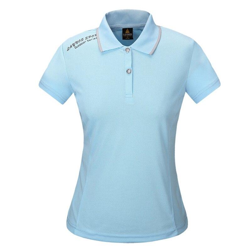 Summer Ladies Anti-uv Quick Dry Polo Shirt Outdoor Hiking T-shirt Fishing Sport Climbing Running T Shirt Women Camping Camiseta