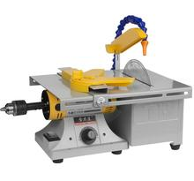 FreeShipping by DHL1pcs Multifunctional Mini Bench Lathe Machine Electric Grinder / Polisher Drill Saw Tool 350w 10000 R/Min
