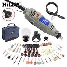 HILDA 220 V 150 Watt Elektrische Drehwerkzeug Variabler Geschwindigkeit Mini Drill Grinder Dremel Stil mit Zubehör DIY Elektrowerkzeuge
