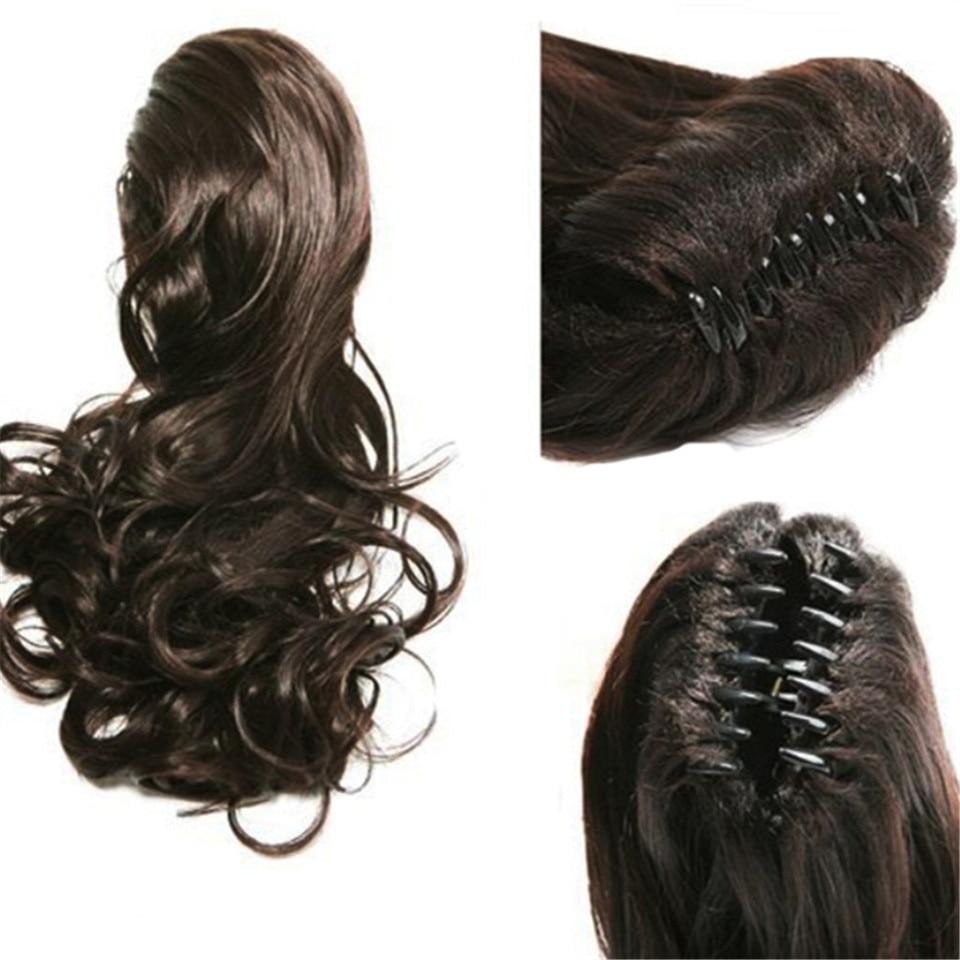 Feibin Pony tail Hår för kvinnor Claw Clip i hårförlängningar - Syntetiskt hår - Foto 5