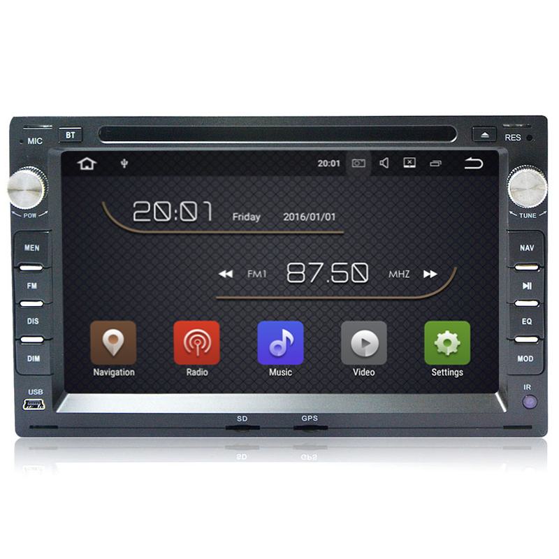 1G RAM Quad Core Android 7 1 Car DVD GPS For Old VW Transporter T4 T5