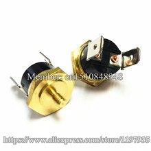 Hex head copper screw KSD301 10A 250V 50C Temperature Switch Screw cap M4 50 degrees  Normally closed
