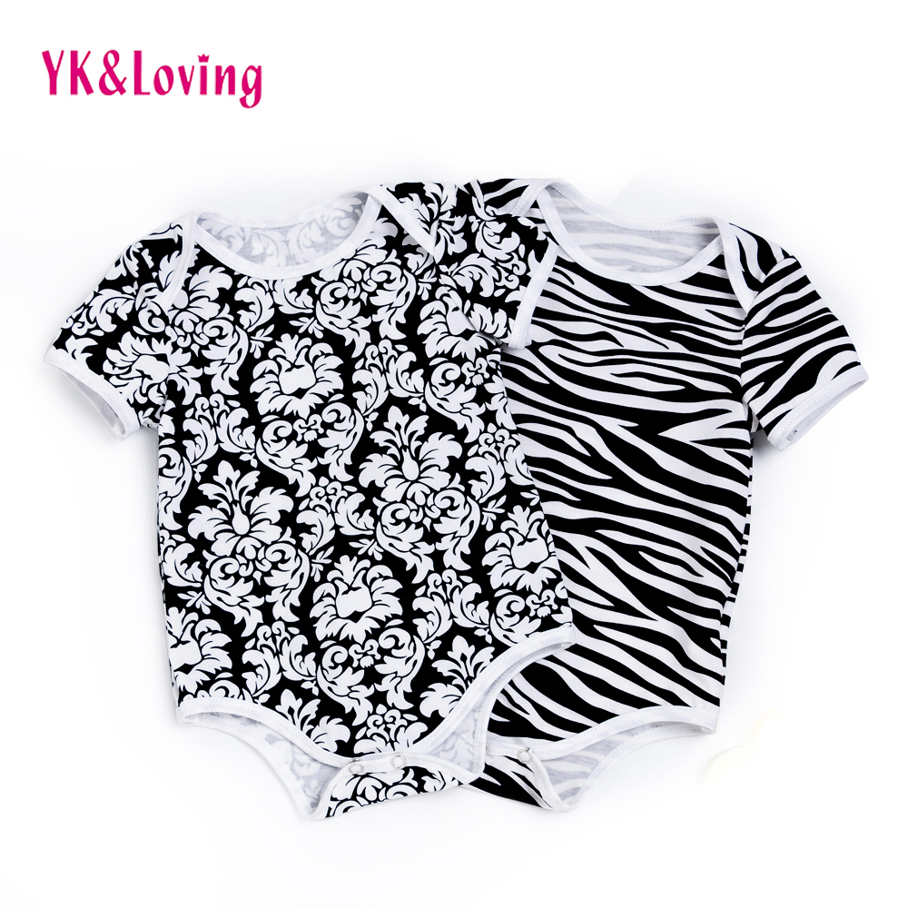Baby Romper Damascus Boy Onesies Summer Style Jumpsuit Cotton Baby Girls Trimmed Clothes for Newborn Infant CLothes