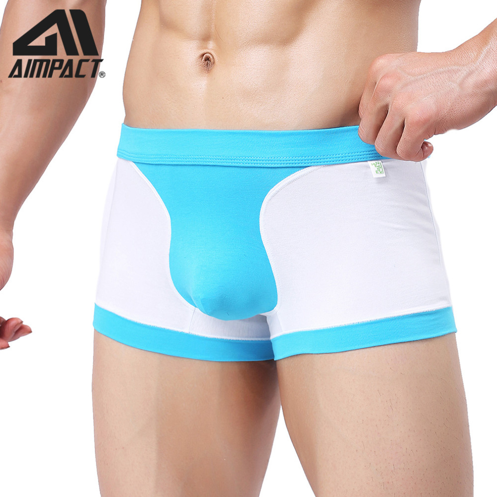 New 2019 Men/'s Boxer Briefs Cotton Soft Mesh Breathable Underwear Underpants