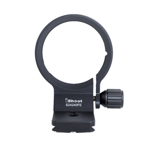 Image 2 - iShoot Lens Collar Tripod Mount Ring Support Bracket for Sony FE 24 240mm F3.5 6.3 OSS Lens with AS standard Quick Release Plate