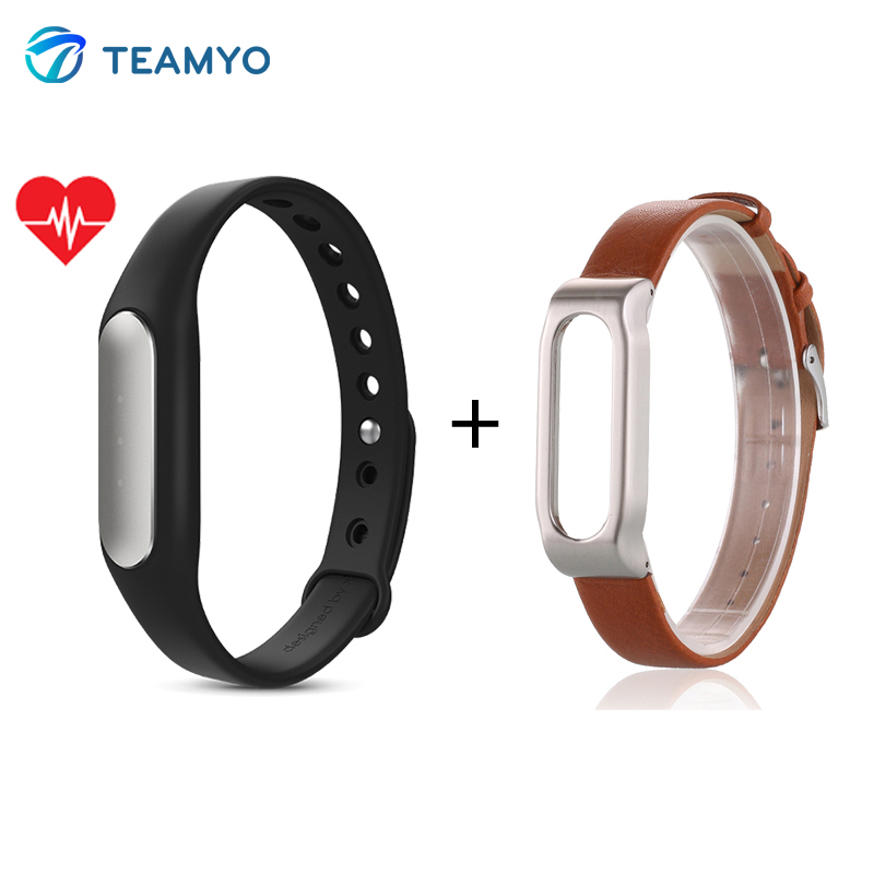 Xiaomi Mi Band 1S Pulse for Android 4.4 IOS 7.0 Miband Heart Rate Monitor IP67 W