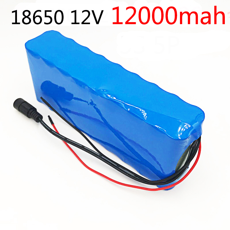 18650 12V Rechargeable Battery DC 11.1V 12.6V 18650 Li-ion Battery 12000 mAh Hunting Xenon Fishing Lamp Outdoor Light Source18650 12V Rechargeable Battery DC 11.1V 12.6V 18650 Li-ion Battery 12000 mAh Hunting Xenon Fishing Lamp Outdoor Light Source
