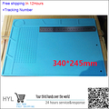 340*245*5mm Insulation Silicone Pad High Temperature Resistant Anti-static  for iPhone Computer Repair Mat