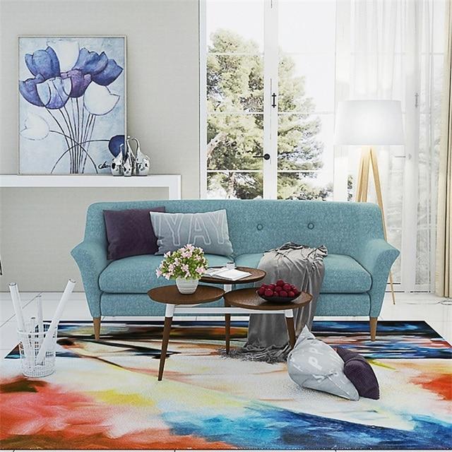 Mode moderne artistique abstrait coloré salon de dessin salon ...