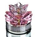 От H & D (Одежда высшего качества подарки на Рождество K9 Кристальный цветок лотоса пресс-папье для украшения дома  свадебной  автомобиль офисн...