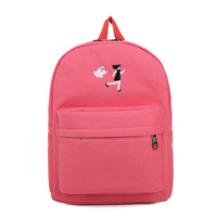 Fashion School Bag Canvas Cute Travel Backpack For Women Big Capacity Brand Designer Backpack Bag For