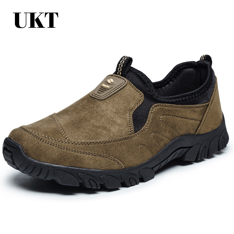 spesialtilbud utendørs skosko menn trekking camping joggesko sapatilhas scarpe uomo sportive senderismo medium (b, m) flannel