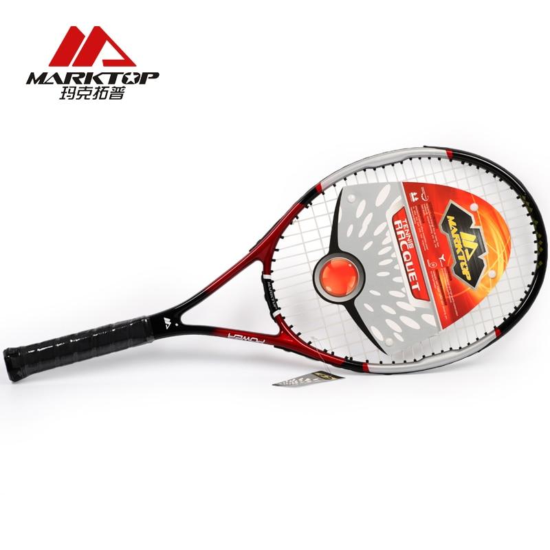 Marktop Tennis Rackets Carbon Fiber Aluminum Alloy Adult Racquet Tennis Training Racket Top Material Tennis For Man Women M3226|racquet tennis|tennis for man|tennis racket - title=