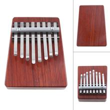 цена на 8 Keys Thumb Piano Mbira Kalimba Thumb Lightweight Portable Durable Traditional African Music Instruments Children Toys